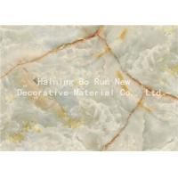 Wholesale Fashionable Stone Contact Paper Film , Faux Marble Vinyl Film No Bubbles from china suppliers