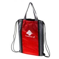 Wholesale Cool Polyester Drawstring Bag With Handle , String Gym Bag Personalized Cinch Sacks from china suppliers