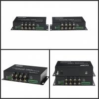 Wholesale FHD 1080P TVI Converter Audio To Fiber Converter 1310nm / 1550nm from china suppliers
