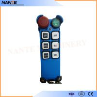 Quality Single Speed Blue Color Wireless Hoist Remote Control Used For Industrial Work for sale