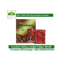 Wholesale Strawberry Powder Weight Loss Fruit Juice BESTSHARE For Slimming SGS Approved from china suppliers