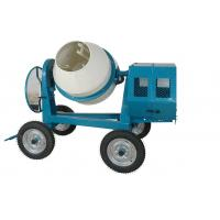Wholesale Mini Cement Mixer Rated Overload Concrete Mixer for Cast Iron CogWheel and Rubber Wheels from china suppliers