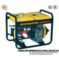 Wholesale GJ3000CXA 3.5kw 178F Engine Gasoline Powered Generator with 14LFuel Tank Capacity from china suppliers