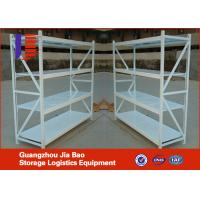 Wholesale Powder Coated Finish Light Duty Racking System for Warehouse / Store Storage from china suppliers