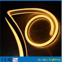 Buy cheap pretty 110V double side emitting yellow led neon flexible strip for outdoor from wholesalers