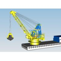 Wholesale Telescopic Offshore Marine Cranes / Industries Grab Bucket Dredger from china suppliers