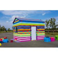 Buy cheap Customed Colorful Outdoor Plastic Toy Building Block for Kids plastic houses for sale mega building blocks from wholesalers