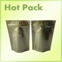 Wholesale Gold Printed Stand Up Aluminum Foil Packaging Bags For Pet Food Packaging from china suppliers