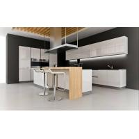 Wholesale Modern Noble White Acrylic Kitchen Cabinets from china suppliers