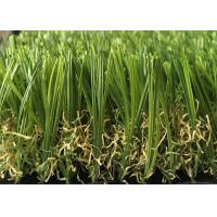 Wholesale Soft Durable Outdoor Artificial Grass Lawns S Shaped 20mm - 45mm Pile Height from china suppliers