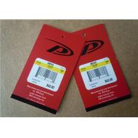 Wholesale Personalised Clothing Label Tags Paper Hot Stamp Apparel Labels from china suppliers