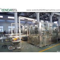 Wholesale Beer Washing Filling Capping 3-in-1 Carbonated Glass Bottle Filling Machine from china suppliers