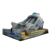 Wholesale Childrens Park Giant Inflatable Slide Strong Oxford Cloth SGS from china suppliers