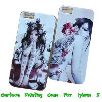 Wholesale Apple Iphone 5 5G 5th Women Painted Hard Back Case Cover -Paypal Accepted from china suppliers