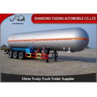 Wholesale 59.7 M3 LPG Tank Trailer Pressure Vessel Three Axles Trailer 25 Ton Capacity from china suppliers