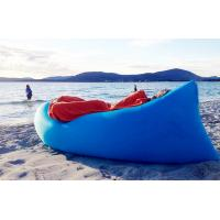 Wholesale Popular Blue Inflatable Air Sofa for beach , Waterproof air lay bag Hangout from china suppliers