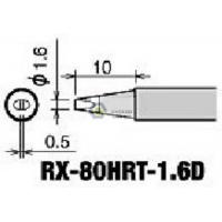 Wholesale Goot RX-80HRT-1.6D soldering tips for Goot RX-802AS,RX-852AS soldering station from china suppliers