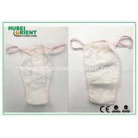 Wholesale Soft Nonwoven Ladies Disposable T Back Panty for Salons , Tanning Centers and Massages from china suppliers