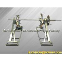 Wholesale Scissor lift drum stands from behind Cable Drum Lifting Jack from china suppliers