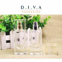 Wholesale 50ml square glass perfume bottle from china suppliers