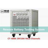 Low Heat Generate Neware Battery Testing System , 18650 Battery Capacity Tester
