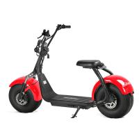 Buy cheap EcoRider Two Wheels Electric Scooter Off Road Harley Scooter With 2 Seat from wholesalers