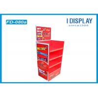 Wholesale Chocolate Floor Cardboard Poster Display Stands With Easy Assembly from china suppliers