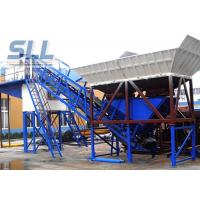 Wholesale Wet Mix Portable Cement Batch Plant / Mobile Concrete Mixing Plant Without Cement Silo from china suppliers