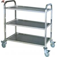 Wholesale Stainless Steel Kitchen Cart with Brakes-Service Cart from china suppliers