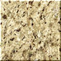 Wholesale Giallo ornament Granite Stone Slabs , light Gold / dark yellow Brazil Granite Floor Tile from china suppliers