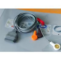 Wholesale Snap Electrode Ecg Accessories Holter Cable 5 Leads For Patient Use from china suppliers