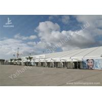 Wholesale Transparent Glass Door outdoor canopy tent Applied in Airport , 25M Width from china suppliers