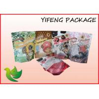 Wholesale Food Packaging Plastic Stand Up Pouches With Clear Window from china suppliers