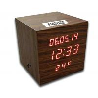 Wholesale Digital LED Wooden Clock with Calendar, Radio, Bluetooth and Loudspeaker from china suppliers