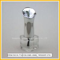 Wholesale Pure Empty Nail Polish Glass Bottles , Nail Polish Containers with Caps from china suppliers