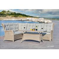 Wholesale Soft Sectional Outdoor Sofa Patio Couch Set With Cushion Corrosion Resistant from china suppliers
