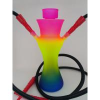 Wholesale Cangzhou hand blown mix color big glass hookah pipes from china suppliers