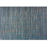 Wholesale Sofa Yarn Dyed Plain Woven Fabric Gray Linen Polyester Backing from china suppliers