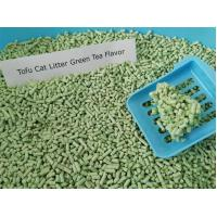 Wholesale superior absorption tofu cat litter green tea scent from china suppliers