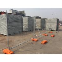 Wholesale Standard Temporary Contruction Fence for Sale Design by Australia and made in China Panels Size 2100mm x 2400mm from china suppliers