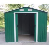Wholesale Color Coated Steel Metal Garden Storage Shed 0.6mm Zinc Steel Frame from china suppliers