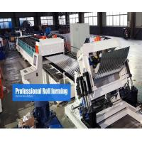 China Steel Silo Roll Forming Machine Gear Box Driven On line Crimping on sale
