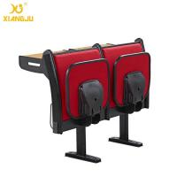 Wholesale Upholstery Fabric University Steel Book Holder College Classroom Seating With Writing Desk from china suppliers