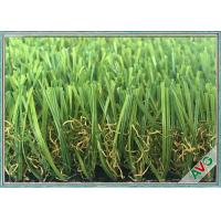 Quality Anti Color Fading Outdoor / Indoor Artificial Grass Great Weather Adaptability for sale