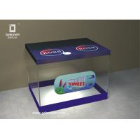 Wholesale Custom Candy Show Perspex Display Box With Storage Ultra - large Capacity from china suppliers