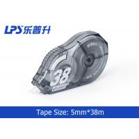Grey Colored Correction Tape Student Stationery PS Titanium dioxide Material