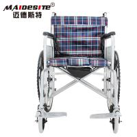 Wholesale Anti Skid Portable Lightweight Folding Wheelchairs For Travelling Easy Washing from china suppliers