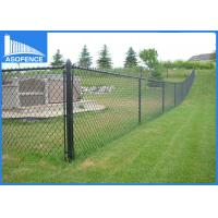 Wholesale 2m Height Security Garden Chain Link Fence Weave Style For Sports Ground Barrier from china suppliers