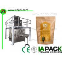 Wholesale Spices Automatic Granule Packing Machine 3 Phase for PreMade Pouch from china suppliers