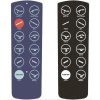 Wholesale Industrial Control Graphic Overlay Printing , PC PET Membrane Switch Keypads from china suppliers